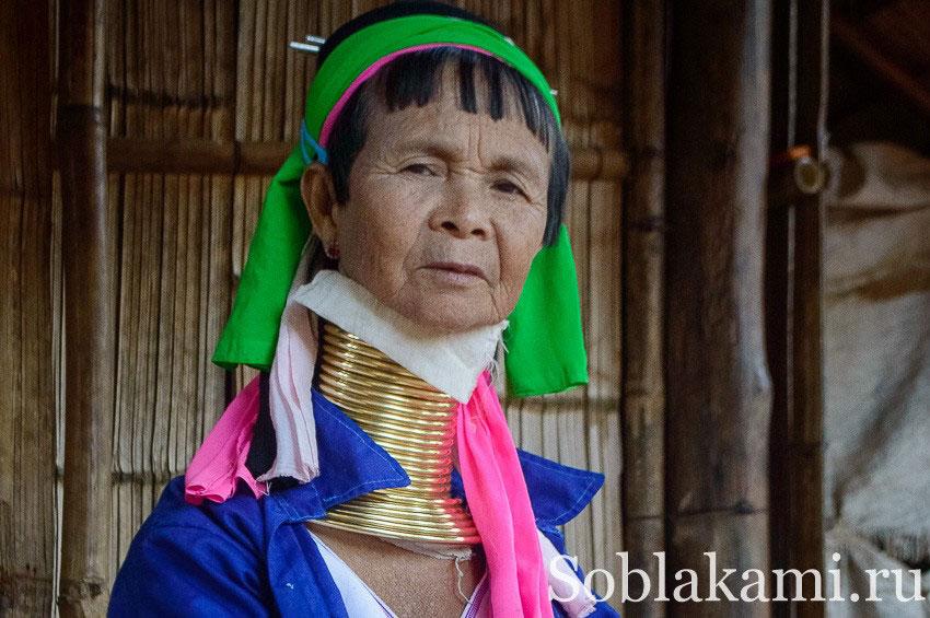 Карены, акха, яо, лаху и палонги - племена в Чианграе