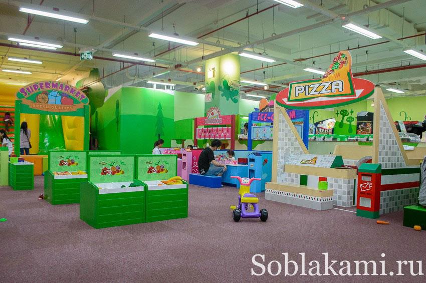 Кидзуна в Экамаи (Kidzoona Ekamai): детские развлечения в Банкоке