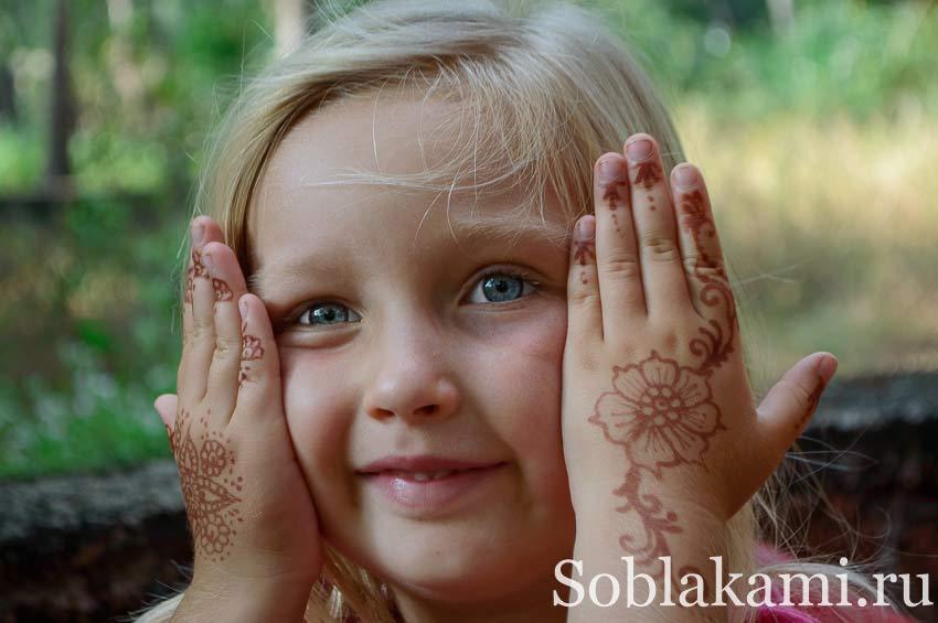 Менди, мехенди: роспись хной по телу в Индии