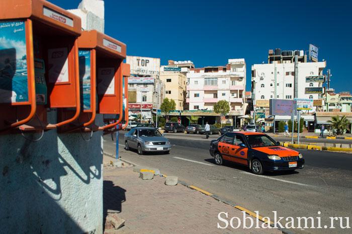 такси в Хургаде, фото