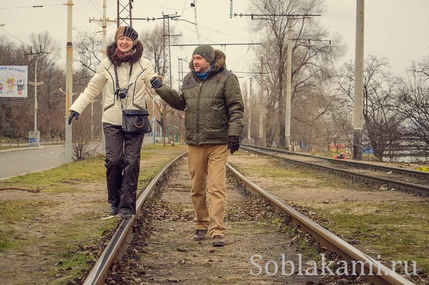 Первая холодная зима за три года. Мы в Украине