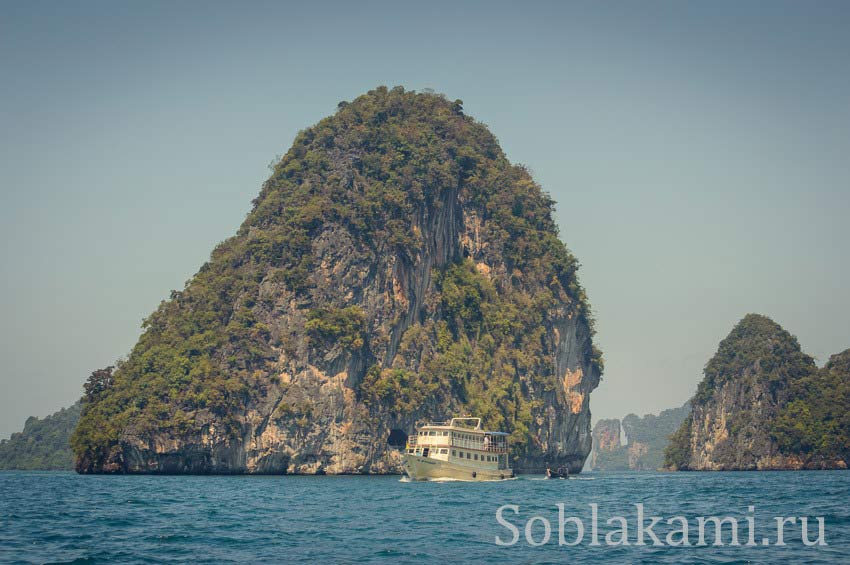 Hong and Paradise islands, Krabi, острова Хонг и Парадайз в Краби