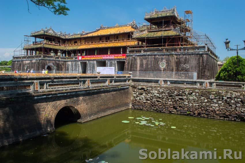 Хюэ, Вьетнам, королевский дворец