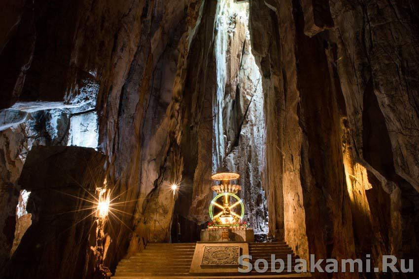 мраморные пещеры в Дананге, самостоятельное путешествие, Вьетнам