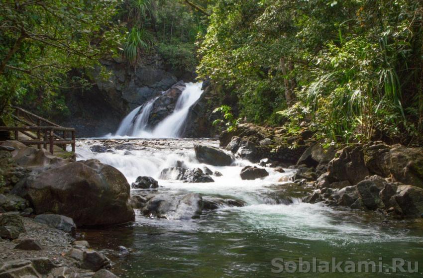 экскурсии на водопады Эстрелла, Палаван, Филиппины