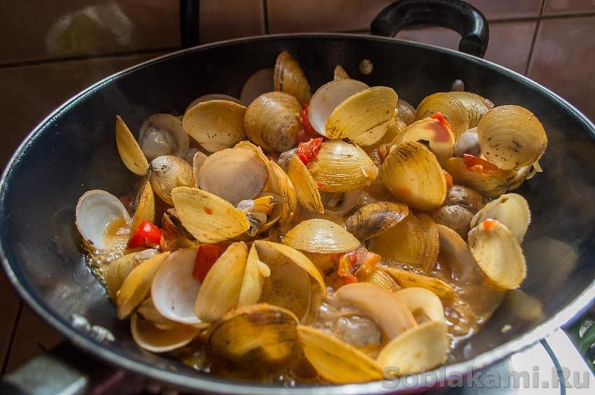 мидии черноморские рецепты приготовления с фото