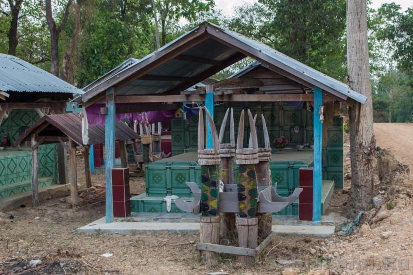 Слоновья деревня в Даклаке Буон Дон, Вьетнам